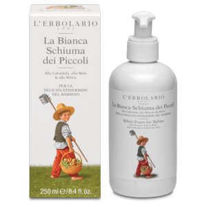 La Bianca Schiuma dei Piccoli Giardino dei Piccoli L'Erbolario 250 ml