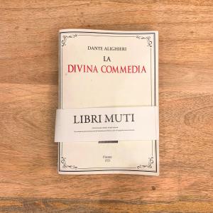 LIBRO MUTO LA DIVINA COMMEDIA