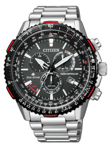 Orologio Citizen Crono Pilot Acciaio  CB5001-57E
