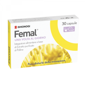 FEMAL - 30 CAPSULE INTEGRATORE PER I DISTURBI DELLA MENOPAUSA