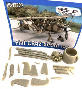 Fiat CR.42AS & Luftwaffe