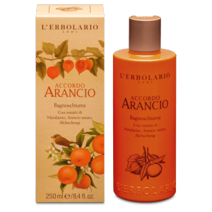 Bagnoschiuma Accordo Arancio L'Erbolario 250 ml