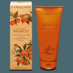 Crema Fluida per il Corpo Accordo Arancio L'Erbolario 200 ml
