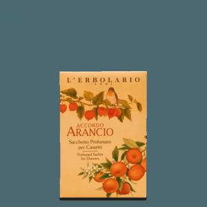 Sacchetto Profumato per Cassetti Accordo Arancio L'Erbolario