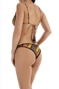 Bikini triangolo frou frou e slip fianco Papunya Effek