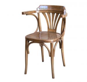 Sedia di design faggio modellato
