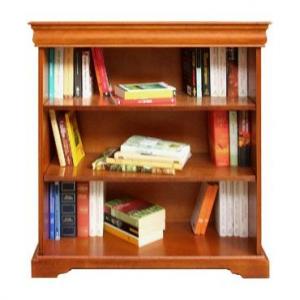 Libreria bassa stile Luigi Filippo ripiani regolabili