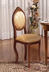 Sedia classica schienale ovale 'Ovalina'