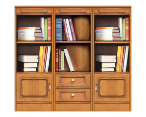 Libreria modulare 'Compos-3A'