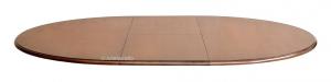 Tavolo ovale intarsiato classico 160-210 cm