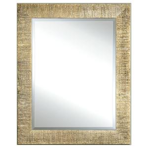 Specchiera foglia oro zigrinato