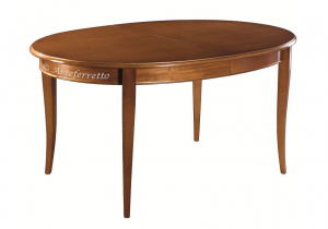 Tavolo ovale allungabile 160 - 250 cm