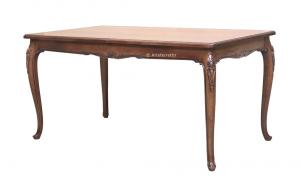 Tavolo intagliato classico di alto pregio 160-250 cm
