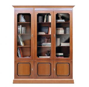Libreria Vetrina in stile da parete
