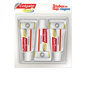 Colgate Total Original Viaggio Dentifricio 3x19ml