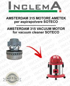 AMSTERDAM 315 motor de aspiración AMETEK para aspiradora SOTECO-2