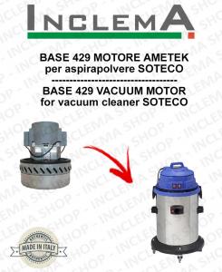 BASE 415 motor de aspiración AMETEK para aspiradora SOTECO-2