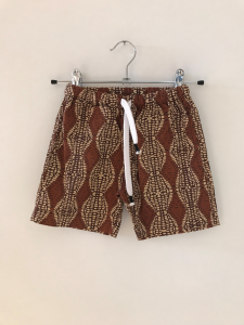 Pantaloncino con stampa africana