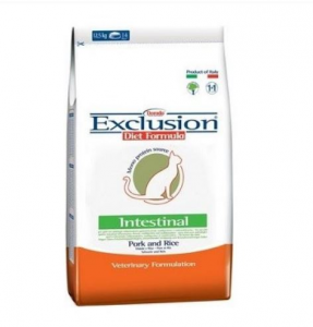 EXCLUSION INTESTINAL MONOPROTEIN VET DIET  CAT MAIALE E RISO