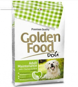 Golden Food Adult Mantenimento pollo e riso 12,5 kg per cani