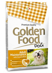 Golden Food Adult Maintenimento anatra e riso 12,5 kg per cani