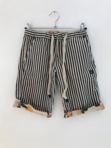 Pantaloncino multicolore reversibile