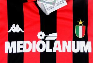 1988-89 AC Milan Maglia Home *CARTELLINO XS/S/M/L