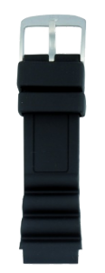 Cinturino in gomma PU - 22 mm