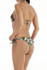 Bikini triangolo frou frou e slip nodi  Papunya Effek