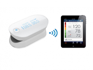 PULSOXIMETRO WIRELESS iHEALTH AIR -BY GIMA