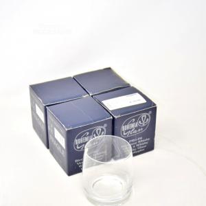 4 Bicchieri Bohemia Vetro