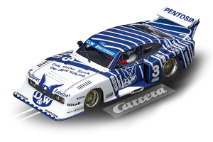 CARRERA DIGITAL 132 FORD CAPRI ZAKSPEED TURBO D&W-ZAKSPEED TEA, No. 3 cod. 20030887