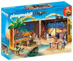 PLAYMOBIL PRIRATES - ISOLA DEI PIRATI PORTATILE cod. 70150