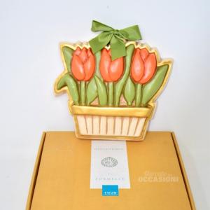 Formella Thun Tulipani Art. A584c90 Con Scatola