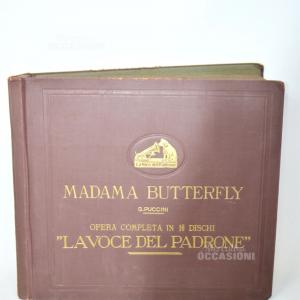 Vinili Per Grammofono Madama Butterfly G. Puccini