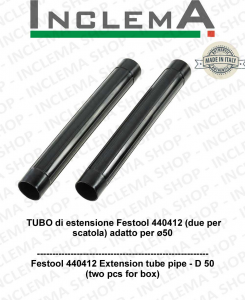 Festool 440412 Extension tube pipe - D 50  (two pcs for box)