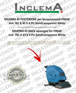 MAXIMA 45 goma de secado trasero para fregadora FIMAP