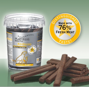 PLATINUM FIT-STICKS CHICKEN RUBBIT 1x300gr