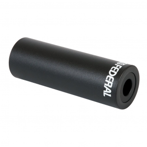 Plastic/Chromoly peg Bmx Federal | Colore Black