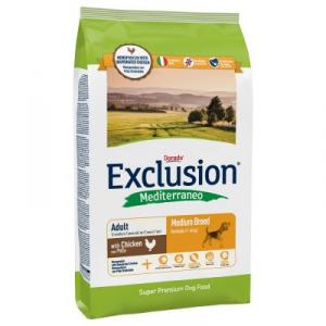 Exclusion Mediterraneo Adult Medium Pollo