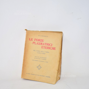 Libro Le Forze Plasmatrici Eteriche Nel Cosmo Nella Terra E Nell'uomo Di G.Wachsmuth