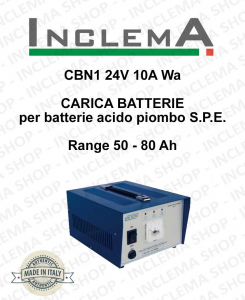 CBN1 24V 10A Wa CARICA BATTERIE for batterie acido piombo