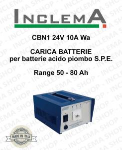 CBN1 24V 10A Wa CARICA BATTERIE para batterie acido piombo