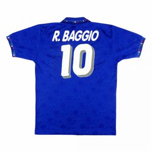 1993-94 Italia Maglia Home #10 R. Baggio XL (Top)