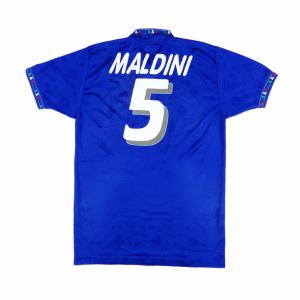1993-94 Italia Maglia Home #5 Maldini L