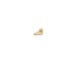 Dormeuse barocco bianco oro