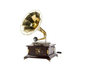 Grammofono quadrato vintage