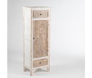 Mobile legno massello bianco Shabby Chic