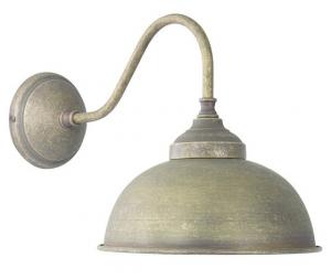 Applique Oslo a campana ottone 1 luce