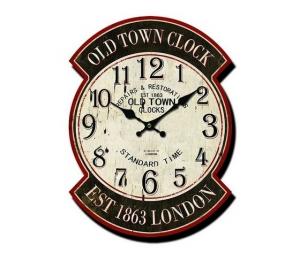 Orologio da parete old town